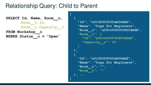 Salesforce1 Platform: Data Model, Relationships and Queries