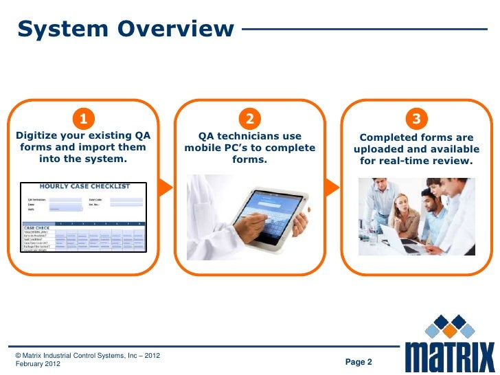 System Overview                    1                                       2                          3Digitize your exist...