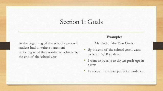 Principals Set Goals for New School Year