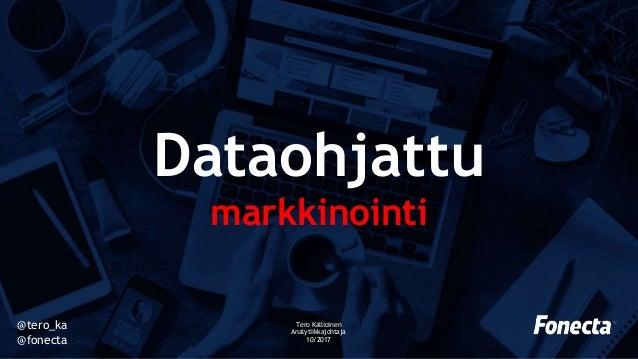 Dataohjattu Markkinointi Futurecustomer17