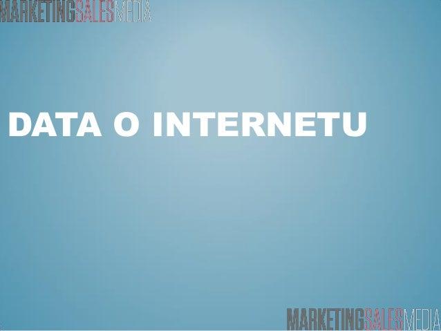 DATA O INTERNETU