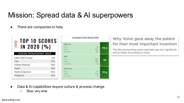 www.scling.com Mission: Spread data & AI superpowers ● There are companies to help ● Data & AI capabilities require cultur...