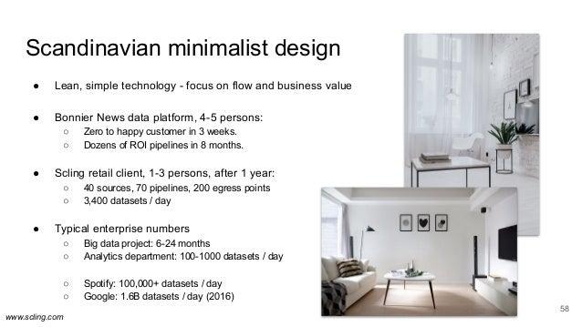 www.scling.com Scandinavian minimalist design ● Lean, simple technology - focus on flow and business value ● Bonnier News ...
