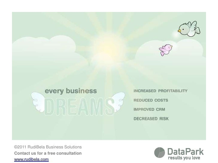 Every business dreams of <br />  - increased profitability<br />  - reduced costs<br />  - improved CRM<br />  - decreased...