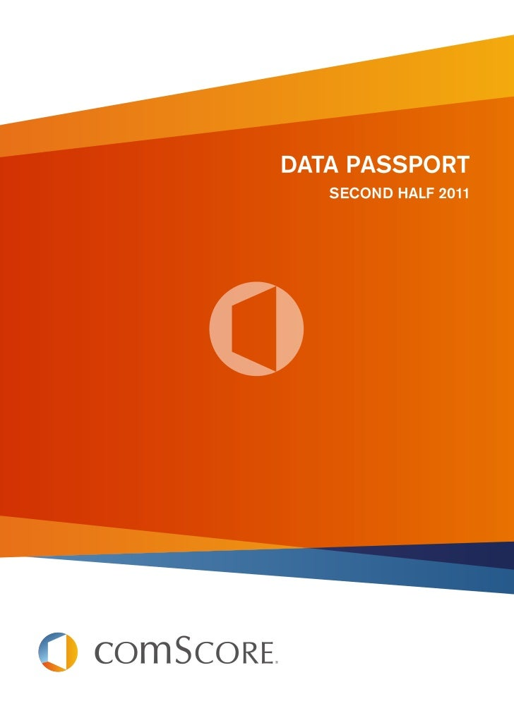 About This Data PassportFrom emerging markets to converging media, comScore digitalbusiness analytics provide clarity in a...