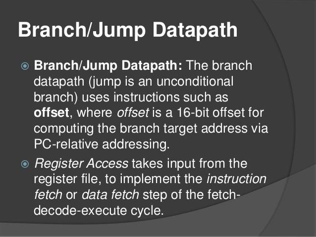 Datapath Design Of Computer Architecture