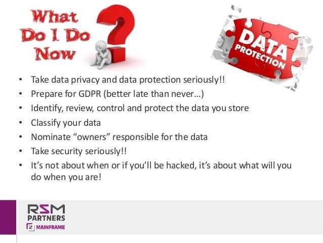 2017 - Data Privacy and GDPR (v1.1)