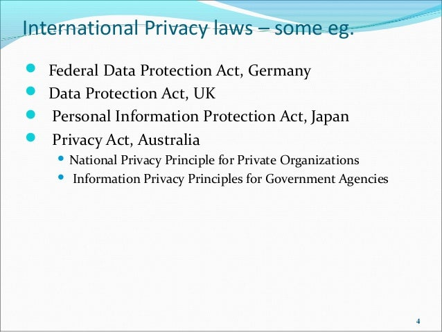 data privacy in india In the us, unlike europe, there is no over-arching data protection legislation, so  why is data protection important if recent breaches have.