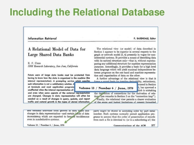 relational database summary Between relational and non-relational databases  have not finished correctly in  a given period of time, combining this information into 4 summaries and.