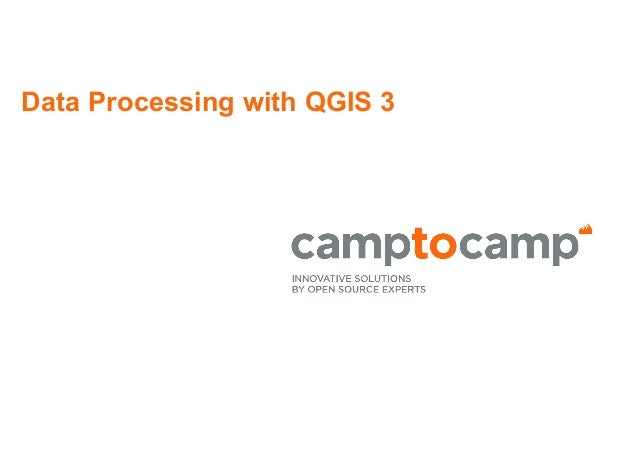 Data Processing with QGIS 3