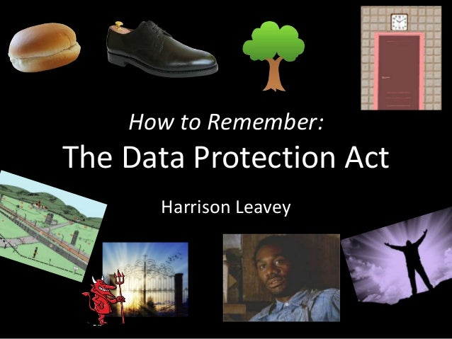 data protection act coursework Data protection is about your fundamental right to privacy you can access and correct data about y.
