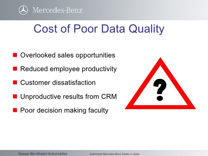 Data Quality Best Practices Nbk Auto May 06 2010