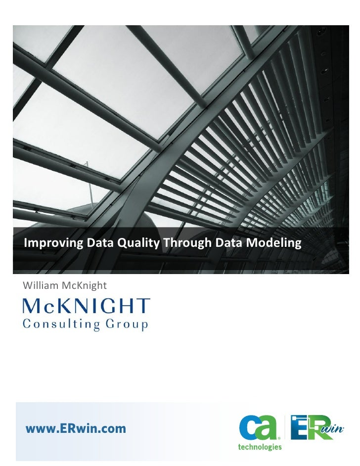 Improving Data Quality through Data Modeling