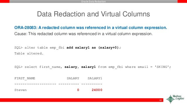 Alter Table Add Virtual Column Oracle Example Oracle 11g