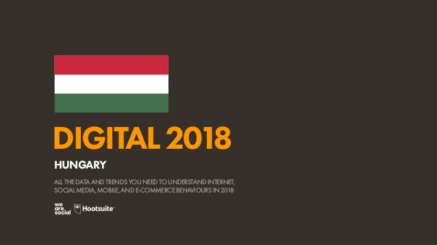 Digital 2018 Hungary (January 2018)