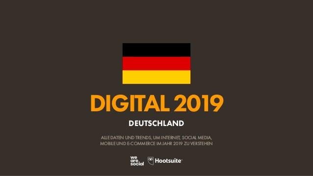 Digital 2019 Deutschland De January 2019 V02