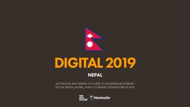 Digital 2019 Nepal (January 2019) v01