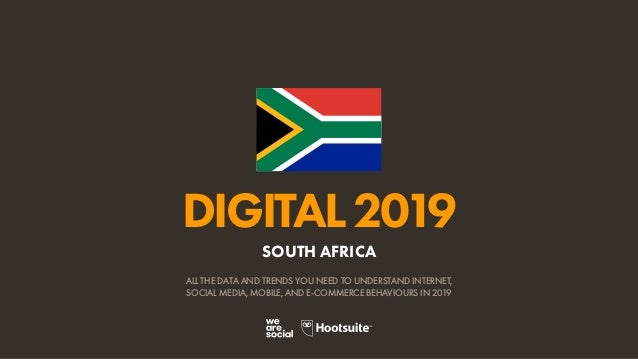 Digital 2019 South Africa (January 2019) v01