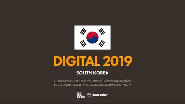 Digital 2019 South Korea (January 2019) v01