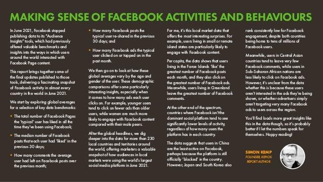 Facebook Engagement and Activity Report July 2021 v01 Slide 3