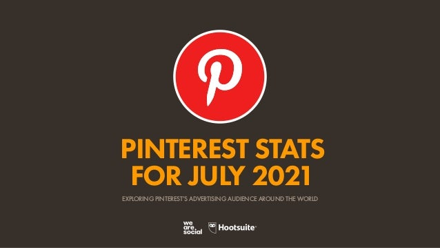 PINTEREST STATS FOR JULY 2021 EXPLORING PINTEREST'S ADVERTISING AUDIENCE AROUND THE WORLD