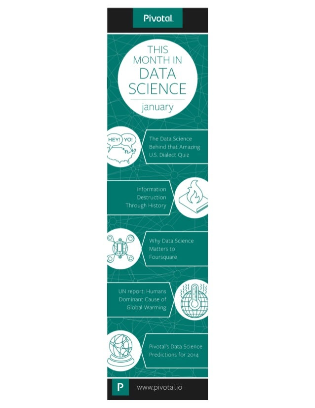 This Month in Data Science