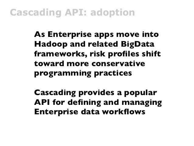cascading api  adoption as enterprise