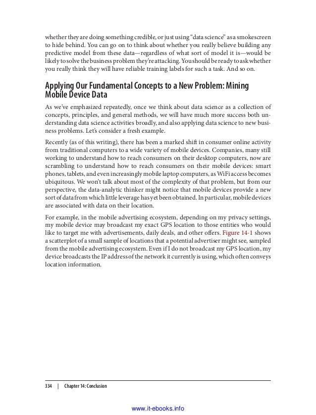 data science for business fawcett pdf