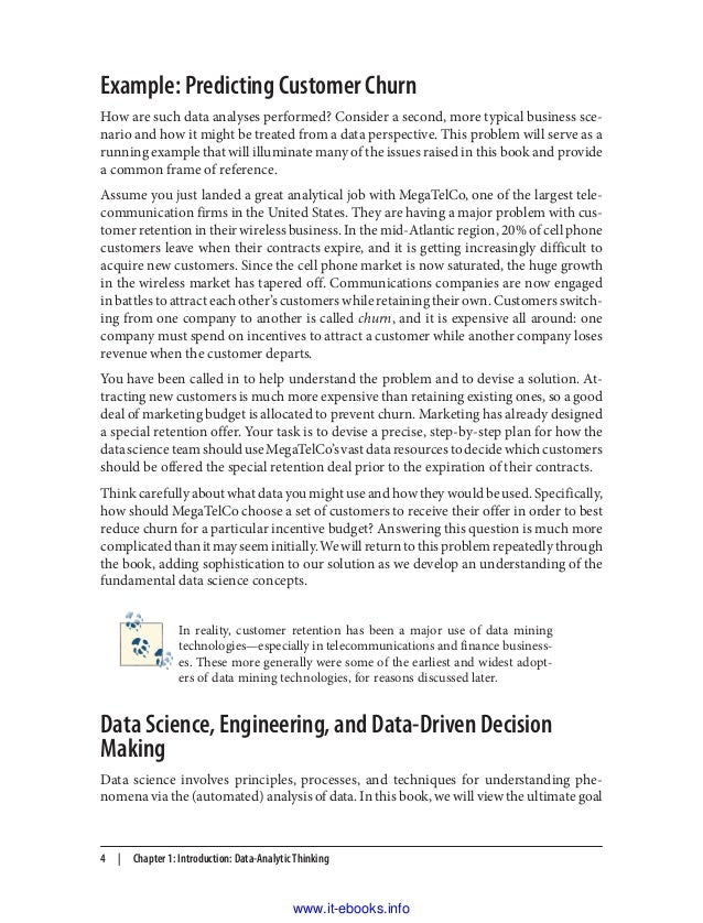 Data science for business pdf free ebook textbook 8 fandeluxe Epub