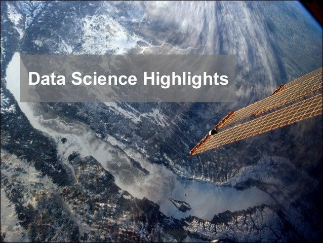 Data Science Highlights