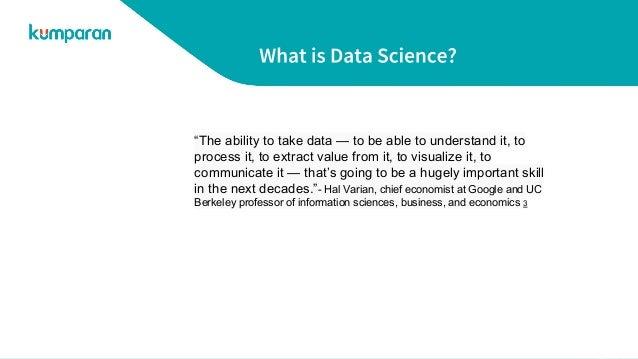 Data science in industry