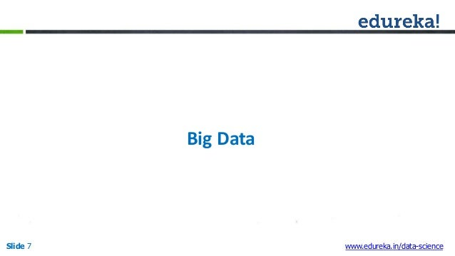 introduction on data science