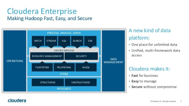 Hadoop for the Data Scientist: Spark in Cloudera 5.5 Slide 3