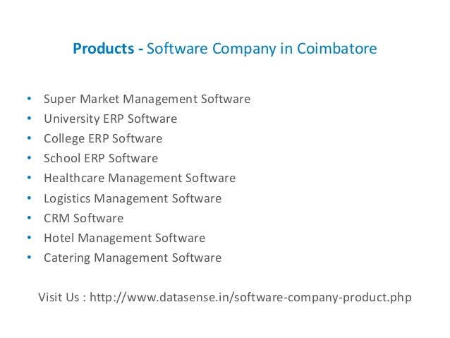 Software Company in Coimbatore - DataSense Technologies