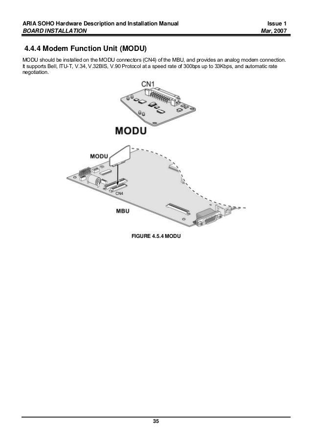 lg aria 24ip phone installation manual