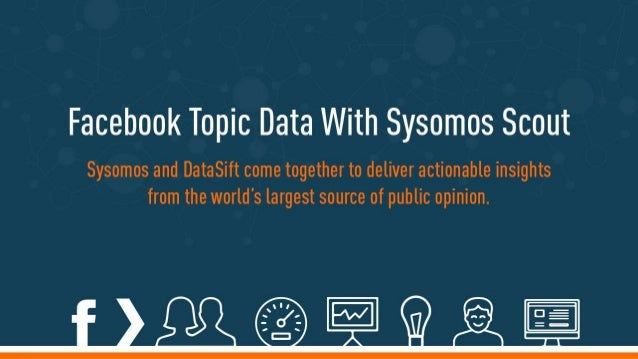 DataSift and Facebook Topic Data