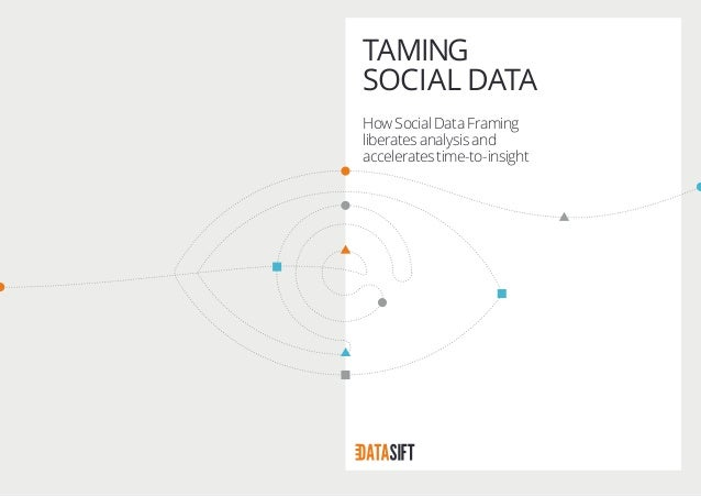 TAMING SOCIAL DATA How Social Data Framing liberates analysis and accelerates time-to-insight