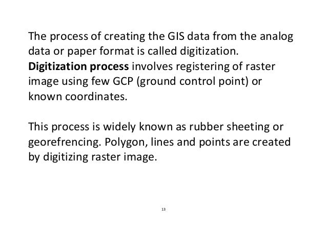 Data Sources And Input In Gis