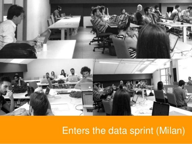 Enters the data sprint (Milan)