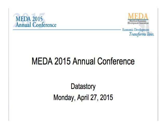 MEDA 2015  Annual Conference  .  an-am when-m Dnrlopmcnt Anoximon  Economic Dcwlopment Transform:  lives.   MEDA 2015 Annu...