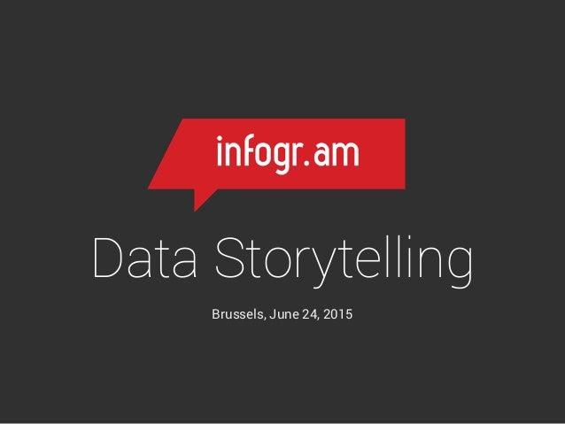 Data Storytelling Brussels, June 24, 2015