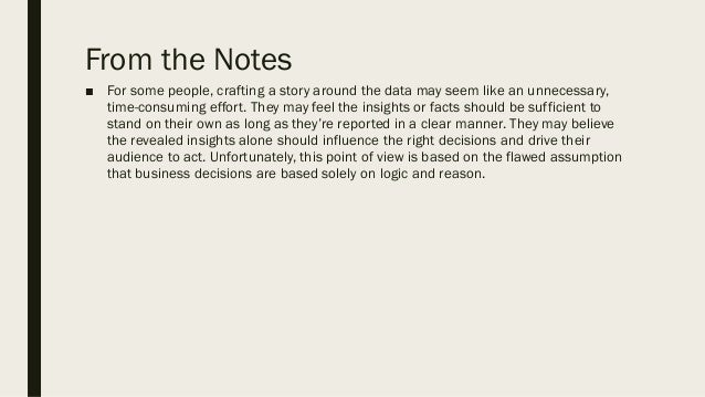 Data Storytelling - From Data to Change