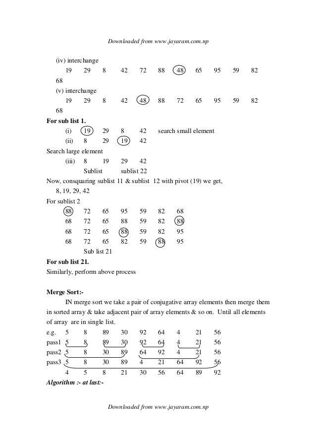 Data structure and algorithm.(dsa)