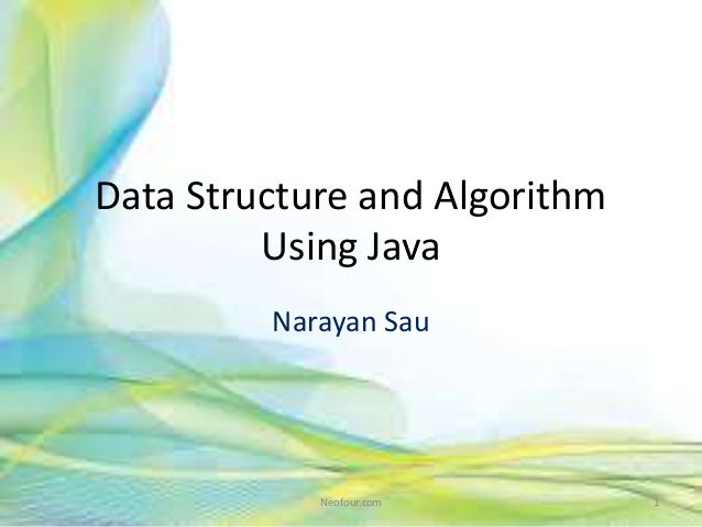 Data structure and algorithm using java