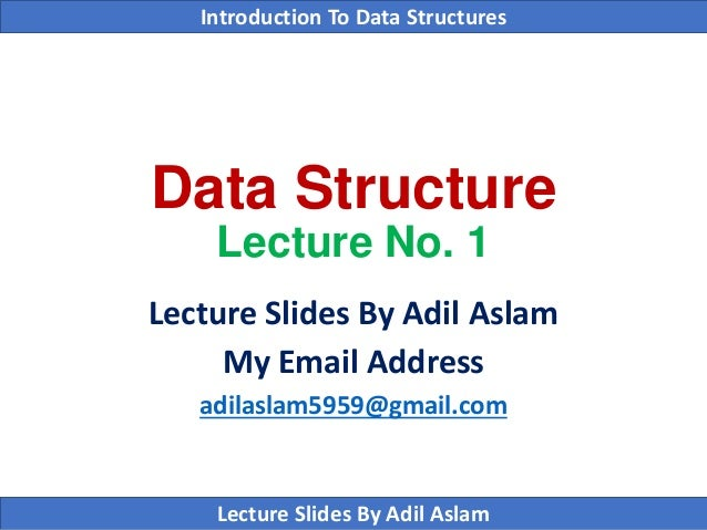 Introduction to Data Structure Using C++