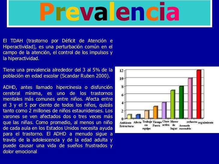 EL TRASTORNO DE DEFICIT DE ATENCION CON HIPERACTIVIDAD