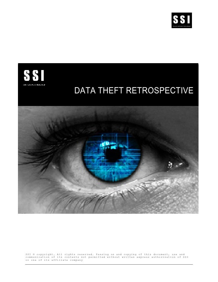 SSI                                                                                Security Software International        ...