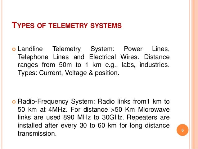 data transmission and telemetry domain schematic