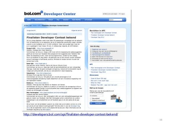 http://developers.bol.com/api/finalisten-developer-contest-bekend/                                                        ...