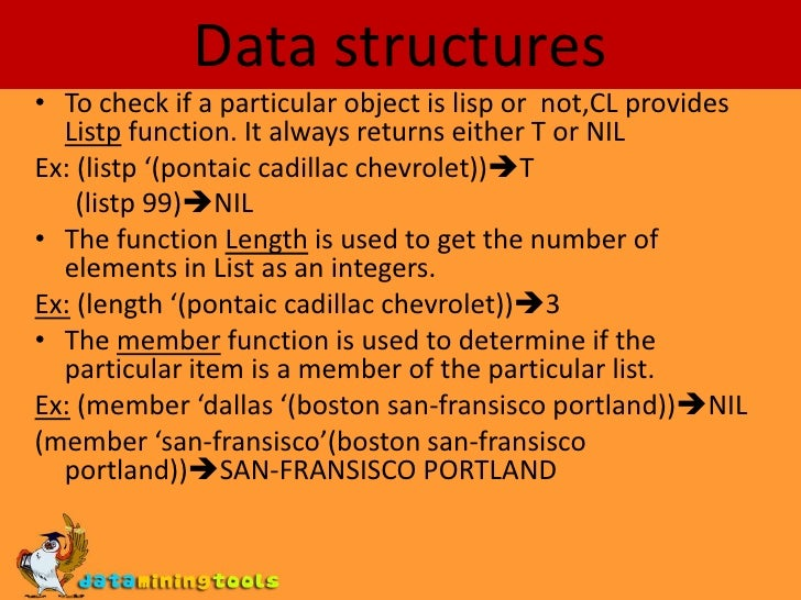 functional data structures in common lisp essay When object orientation met functional gem of a book entitled purely functional data structures as the father of common lisp.